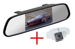Зеркало + камера cam-007 для Toyota Prado 120 (02-07) с запаской на двери