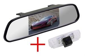 Зеркало + камера cam-047 для Subaru Forester, Impreza, Outback, Legacy