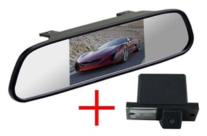 Зеркало + камера cam-110 для Hyundai H1 Starex