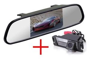 Зеркало + камера для cam-086 Hyundai i30 12+, i10 07+, i20 09+, Coupe, Genesis Coupe, Veloster / KIA Picanto 04-11, Soul 09-13