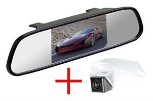 Зеркало + камера cam-038 для Mazda 3 (09-13) седан, 2 (07-16)