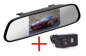 Зеркало + камера cam-108 для Peugeot 307 седан, 206, 207, 407 седан