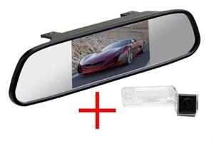 Зеркало + камера cam-057 для Audi A3 (03-13) / A4 (04-08) / A6 (01-04) / A8 (02-10) / Allroad (01-04) / Q7 (05-11)