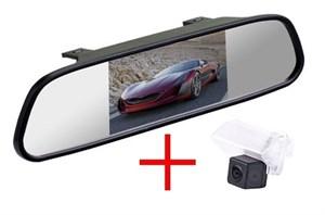 Зеркало + камера cam-008 для Toyota Camry 11+, Corolla 12+, Auris 12+, Avensis 08+, Verso 07-09 / Citroen Berlingo C4 DS4 / Peugeot 206, 207, 307, 407