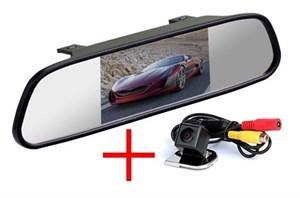 Зеркало + камера cam-013 для Ford Focus 3 2011+, Mondeo, S-MAX, Fiesta
