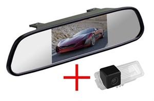 Зеркало + камера cam-080 для Porsche Cayenne 2011+