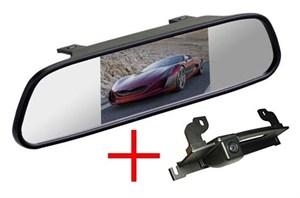 Зеркало + камера cam-119 для Nissan Tiida Hatchback