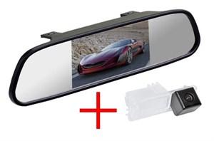Зеркало + камера cam-054 для Volkswagen Golf VI (08-12), Golf VII (2013+), Scirocco, Amarok, Polo, Passat B7