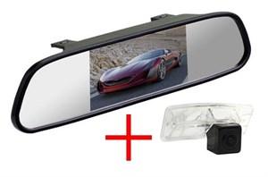 Зеркало + камера cam-041 для Nissan Qashqai 2014+, X-Trail 2014+