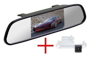 Зеркало + камера cam-020 для Hyundai Solaris Hatchback 12+ / KIA Rio Hatchback, Ceed 2012+