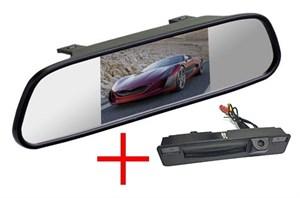Зеркало + камера cam-107 для Ford Focus 3 2015, 2016, 2017+ (SonyCCD 170 градусов)