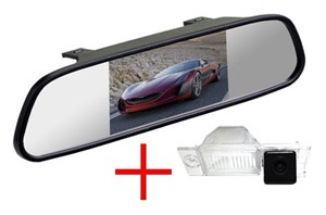 Зеркало + камера cam-018 для Hyundai ix35 2015+, Tucson 2015+