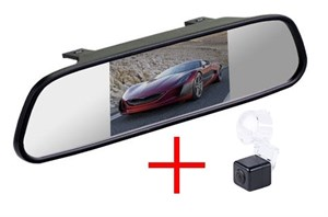 Зеркало + камера cam-068 для Suzuki SX4 2006+ Hatchback
