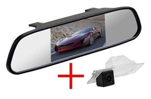 Зеркало + камера cam-034 для Mazda 3 2014+ седан