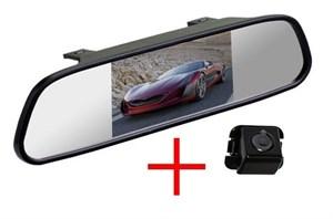 Зеркало + камера cam-072 для Toyota Camry 2007+