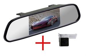 Зеркало + камера cam-074 для Peugeot 207CC, 308, 407, 3008, 307CC, 408