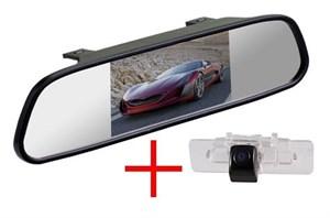 Зеркало + камера cam-046 для Subaru Legacy, Outback, Tribeca (08+)