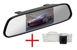 Зеркало + камера cam-084 для Lifan Smily (320)