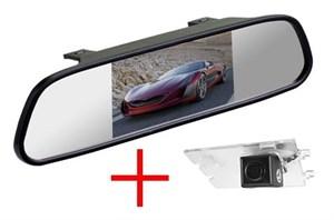 Зеркало + камера cam-091 для Jeep Compass, Grand Cherokee, Liberty, Patriot