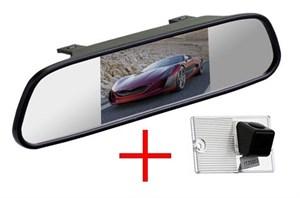 Зеркало + камера cam-032 для Kia Cerato (хэтч, до 2011)