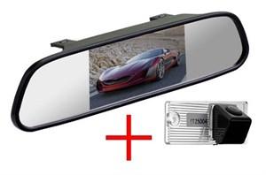 Зеркало + камера cam-033 для Kia Cerato (седан, до 2011)