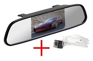 Зеркало + камера cam-092 для Dodge Caliber (2006-2011) Grand Caravan 5 (2007+)