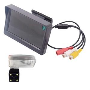 Монитор 4.3 дюйма + камера заднего вида для Zotye T600 2013+