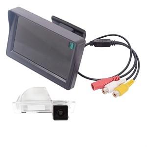 Монитор 4.3 дюйма + камера заднего вида для Volkswagen, Skoda