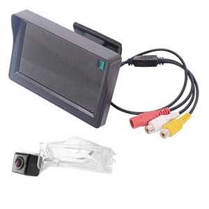 Монитор 4.3 дюйма + камера заднего вида для Dodge Caliber (2006-2011) Grand Caravan 5 (2007+)