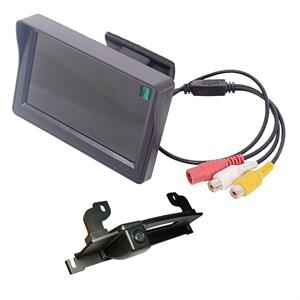 Монитор 4.3 дюйма + камера заднего вида для Nissan Tiida Hatchback