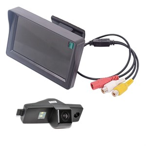 Монитор 4.3 дюйма + камера заднего вида cam-006  для Toyota HighLander 08+