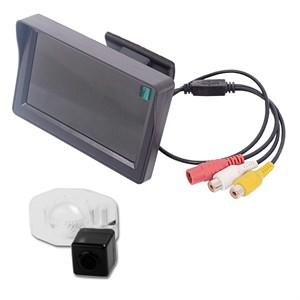 Монитор 4.3 дюйма + камера заднего вида cam-002 для Toyota Corolla (06-13)