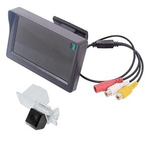Монитор 4.3 дюйма + камера заднего вида cam-015 для SsangYong Rexton, Kyron, Actyon