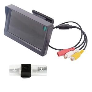 Монитор 4.3 дюйма + камера заднего вида cam-101 для Skoda Octavia 04+, Roomster 06+