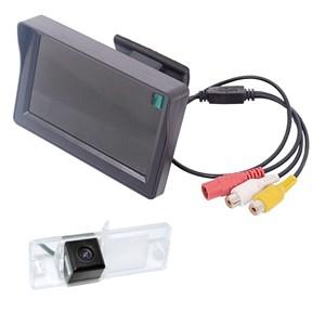 Монитор 4.3 дюйма + камера заднего вида cam-103 для Mitsubishi Pajero IV 2006+, Sport