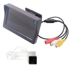 Монитор 4.3 дюйма + камера заднего вида cam-049 для Mitsubishi ASX 2010+, Peugeot 4008, Citroen C4 Aircross