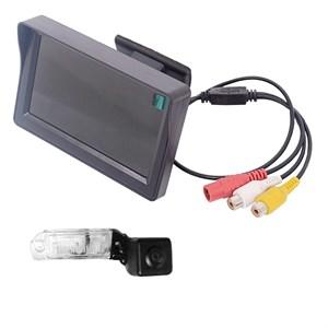 Монитор 4.3 дюйма + камера заднего вида для Mercedes ML (w164)