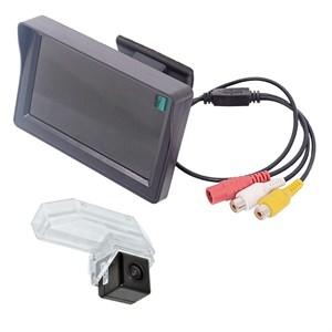 Монитор 4.3 дюйма + камера заднего вида cam-037 для Mazda 6 GH (2007-2012), RX-8 (2008+)