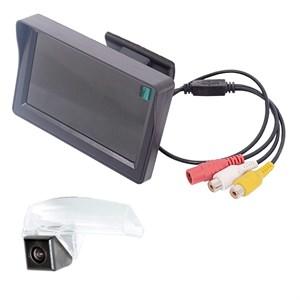 Монитор 4.3 дюйма + камера заднего вида cam-038 для Mazda 3 (03-13) седан, 2 (07-16)