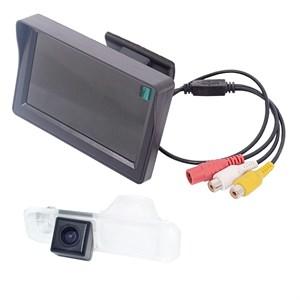 Монитор 4.3 дюйма + камера заднего вида cam-028 для Kia Rio (11-16) седан