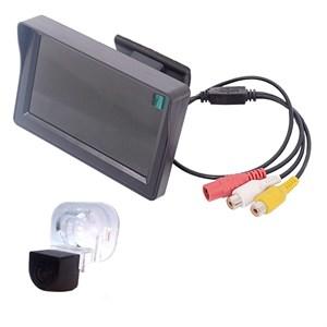 Монитор 4.3 дюйма + камера заднего вида cam-017 для Hyundai Solaris (sedan), Verna, Kia Cerato (09-12), Venga (10+)