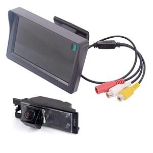Монитор 4.3 дюйма + камера заднего вида cam-023 для Hyundai ix35, Tucson / Kia Ceed Hatchback 2012+