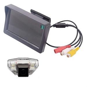 Монитор 4.3 дюйма + камера заднего вида cam-052 для Honda CR-V (06-12), Fit (08-13), Odyssey (09-10), HR-V, Crosstour