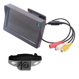 Монитор 4.3 дюйма + камера заднего вида для Honda Accord 08+