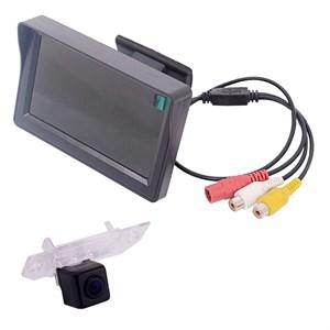 Монитор 4.3 дюйма + камера заднего вида cam-016 для Ford Focus 2 седан (05-11), C-Max (07-09), Mondeo (00-07)