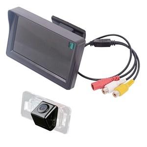 Монитор 4.3 дюйма + камера заднего вида cam-064 для BMW 3, 5, X5, X6
