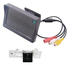 Монитор 4.3 дюйма + камера заднего вида cam-063 для Audi A1 / A4 (08+) / A5 (08+) / A7 / Q3 / Q5 (08+) / TT (07-14) / S6