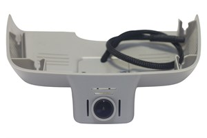 Видеорегистратор Redpower DVR-MBE-N (светло-серый) Wi-Fi Full HD для Mercedes E class и С class в коробе зеркала заднего вида