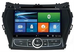 Штатное головное устройство MyDean 2209 для Hyundai Santa Fe (2013-)