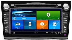 Штатная магнитола Mydean 2061 Black для Subaru Legacy (2009-), Outback (2009-)